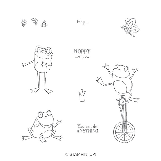 So hoppy together Stampin Up
