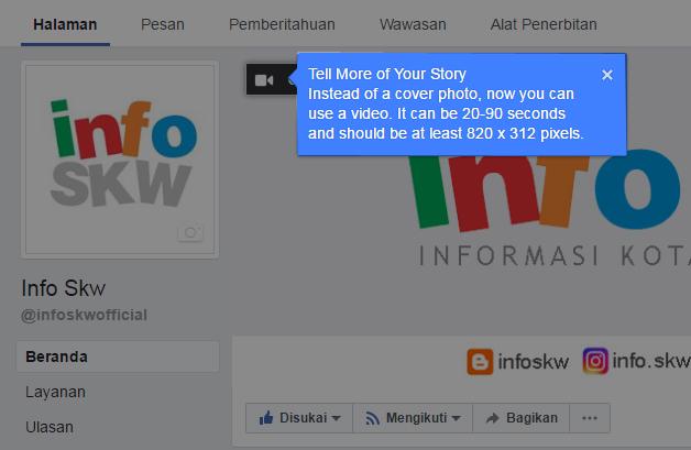 Fitur Video Banner Facebook
