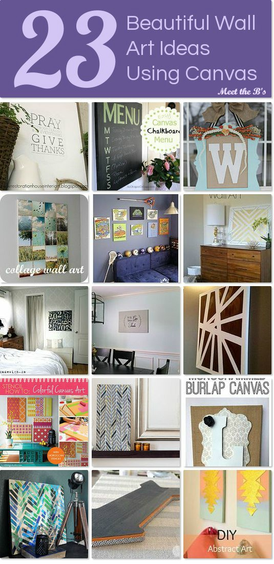 23 Beautiful Canvas Wall Art Ideas