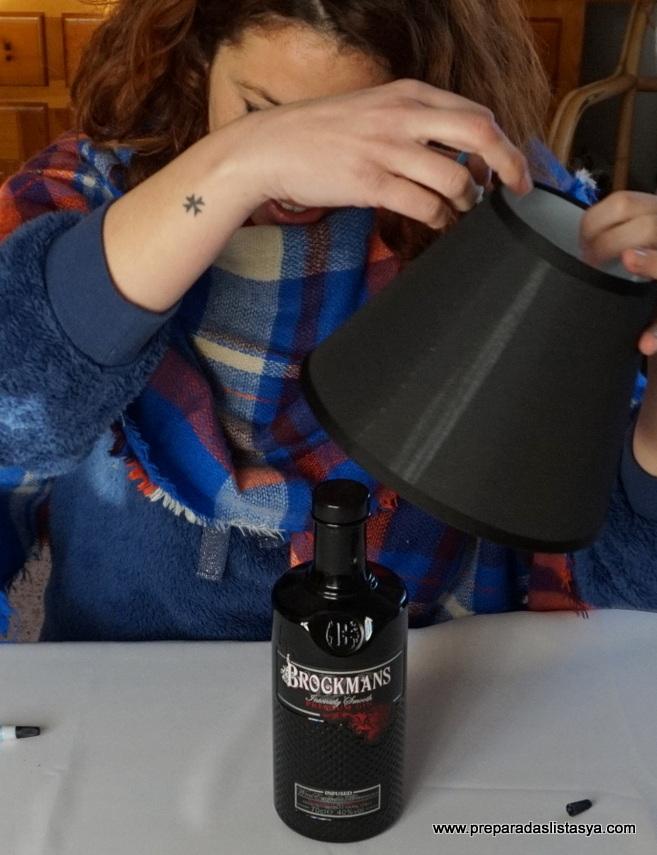 Hacer lámpara botella cristal