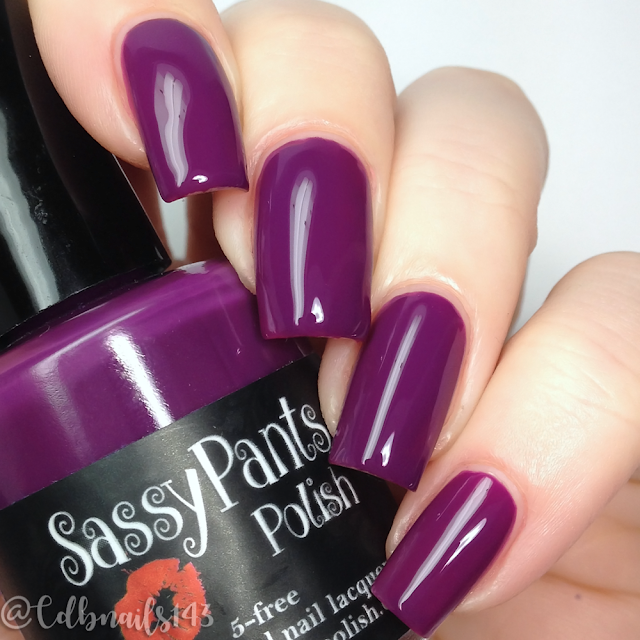 Sassy Pants Polish-Kiss & Tell