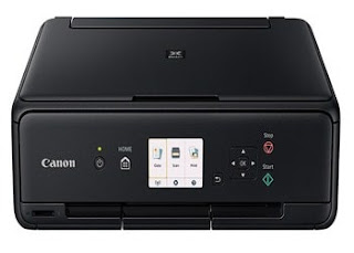 Canon PIXMA TS5050 printing colors.