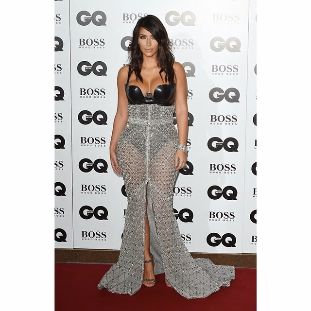 Kim Kardashian GQ Cover: Now with Less A$$ Crack! - The