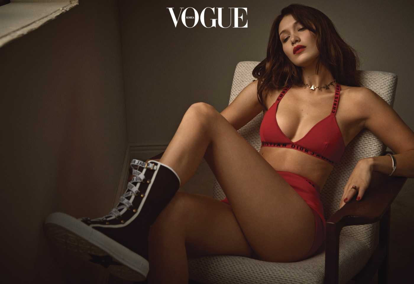 Bella Hadid – Vogue Korea Photoshoot 2018