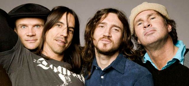Red Hot Chili Peppers con John Frusciante