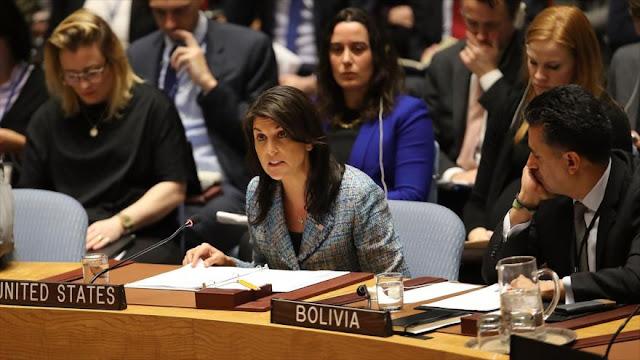EEUU amenaza a la ONU con nuevo ataque al Ejército sirio