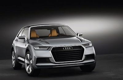 2016 Audi Q8 Front View Model