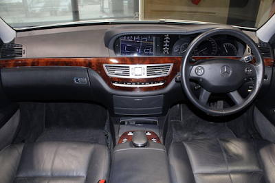 Interior Mercedes W221 S-Class Prefacelift