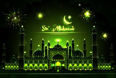 Beautiful Eid Mubarak Images 2017 And Eid ul Adha (Bakara Eid) Images For Facebook