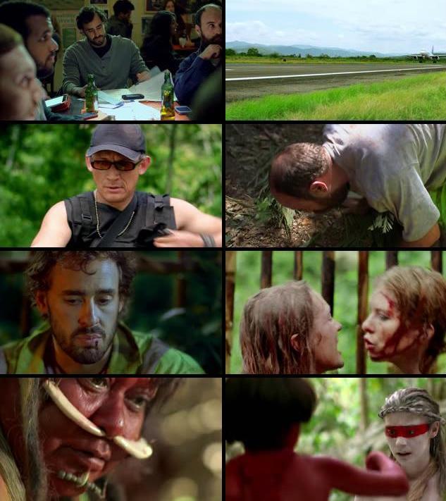 The Green Inferno 2015 English 480p BRRip 300mb ESubs