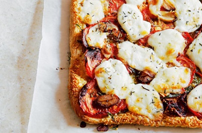 Mozzarella Tart
