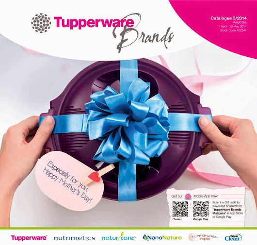 A WONDERFUL WORLD OF TUPPERWARE BRANDS: TUPPERWARE BRANDS 1 APRIL--10 MEI 2014
