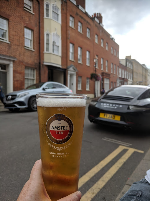 A Short Stay in Windsor with Kids  - two brewers windsor beer garden