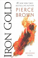 Iron Gold by Pierce Brown book cover and review