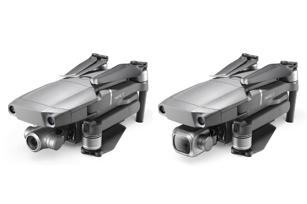 DJI debuts Mavic 2 Zoom (world's first foldable consumer drone with optical zoom) and Mavic 2 Pro (world's first drone with an integrated Hasselblad camera)