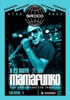 Concierto de Mamafunko en Siroco