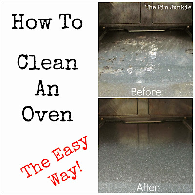 how to clean oven no chemicals