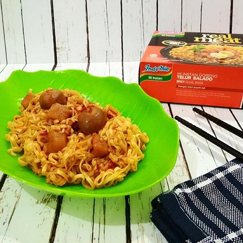 Indomie Real Meat Telur Balado