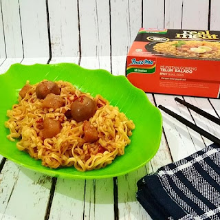 Indomie Real Meat Telur Balado