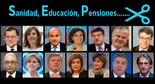 Estos son los ministros del gobierno de mariano rajoy for Ministros del gobierno