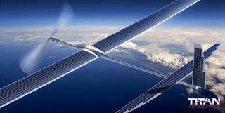 Google Uji Coba Drone Untuk Penyebar Jaringan Internet 5G