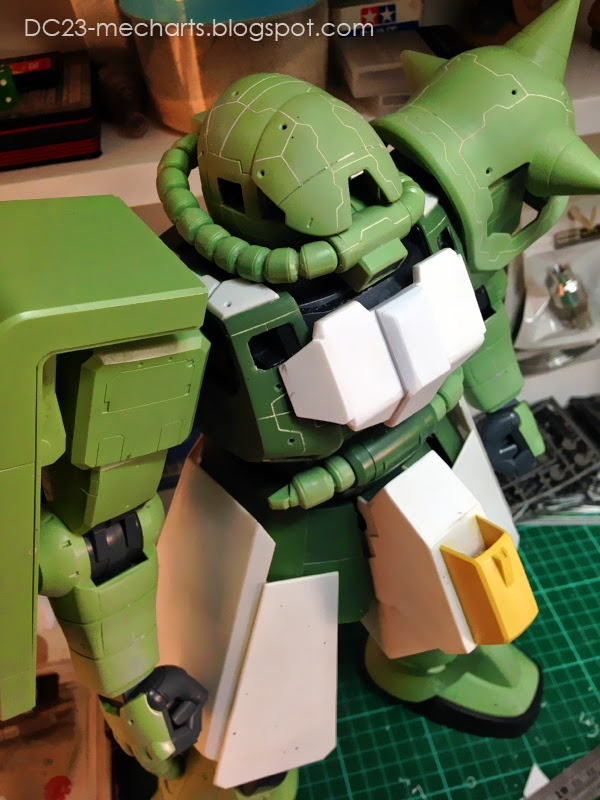 1/48 Zaku WIP verDC23photo