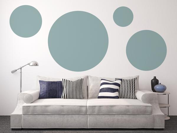 paint wall circle   pintura paredes circulos homepersonalshopper inspiraciones