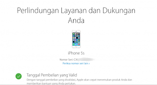 Cara cek keaslian iPhone