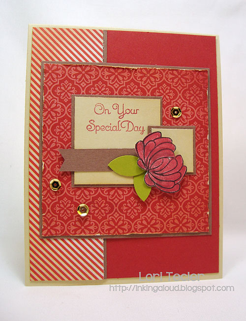 On Your Special Day-designed by Lori Tecler-Inking Aloud-stamps from Uniko Studio