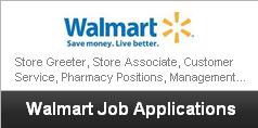 update my job application for walmart