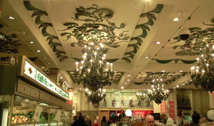 The Ceiling in Harrods Food Hall