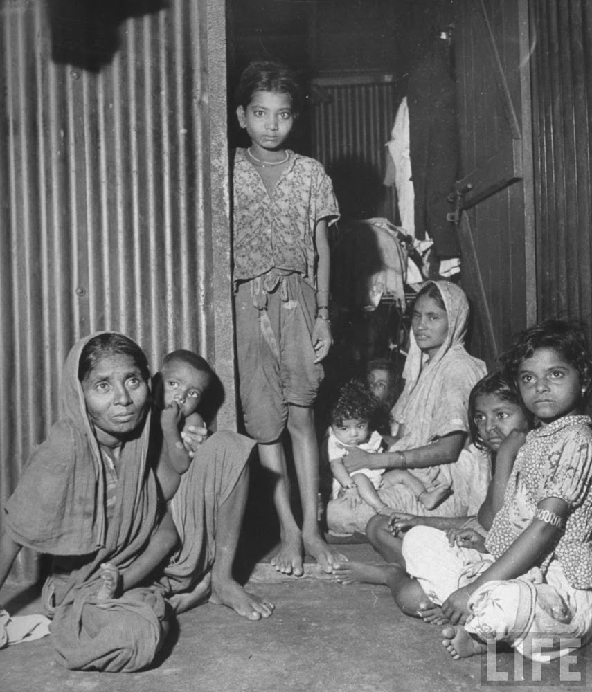Indian mothers with their children