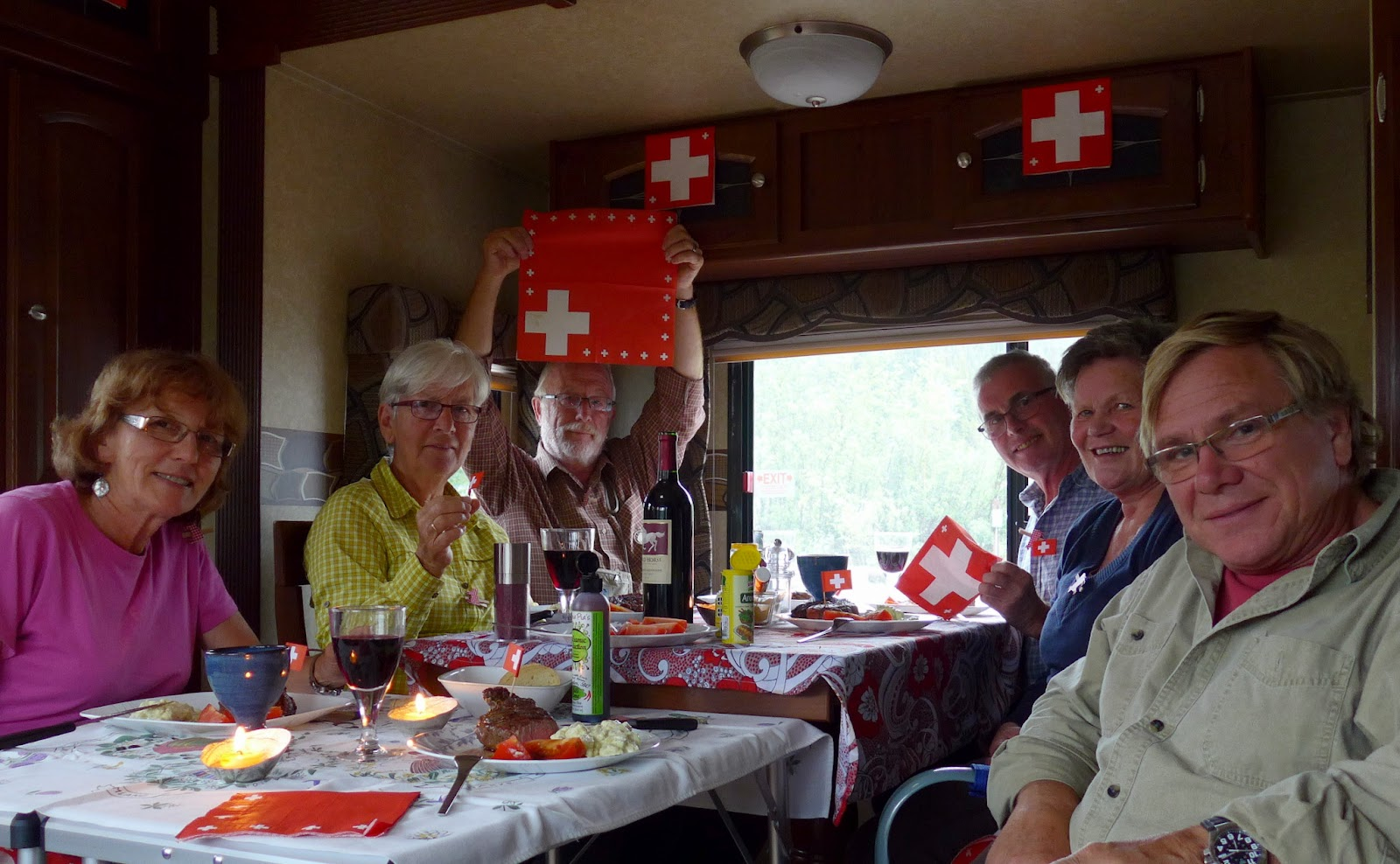 Celebrating the Swiss National Holiday