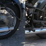 difference between Dnepr and Ural swingarms