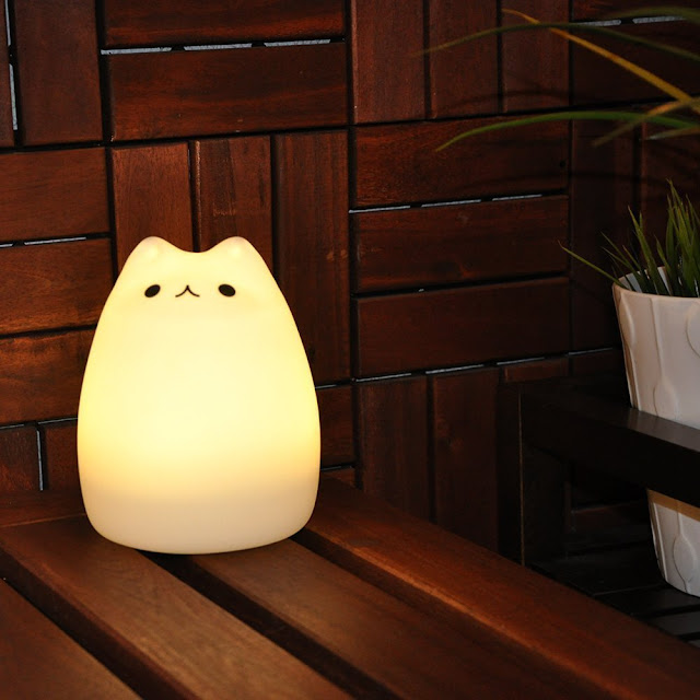 Myster 3-Modes Portable Silicone LED Night Lamp from Amazon