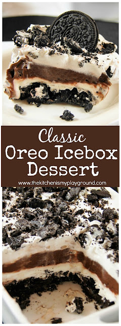 No-Bake Oreo Dessert image
