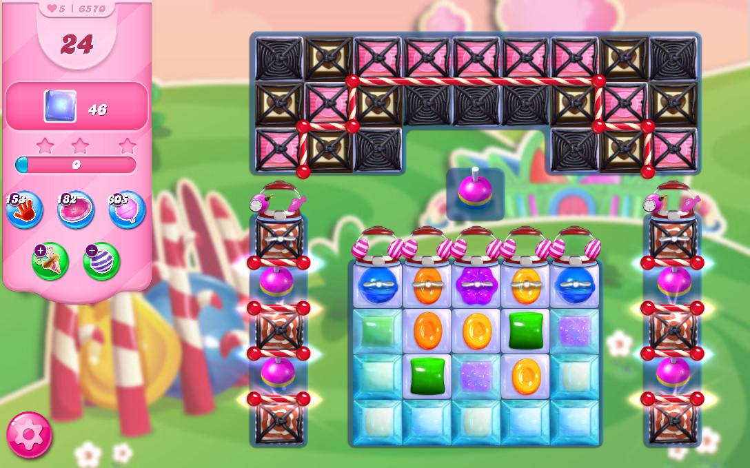 Candy Crush Saga level 6570