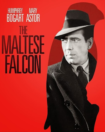 Poster Of Hollywood Film The Maltese Falcon (1941) In 300MB Compressed Size PC Movie Free Download At worldfree4u.com
