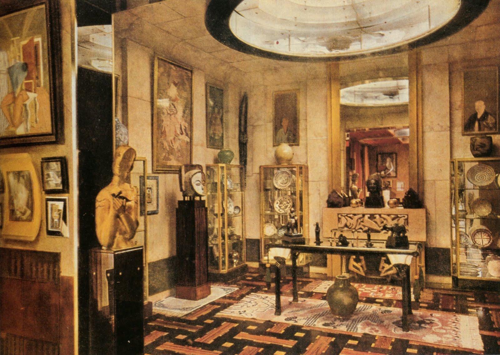 for pilar jacques doucet 39 s paris apartment by eileen. Black Bedroom Furniture Sets. Home Design Ideas