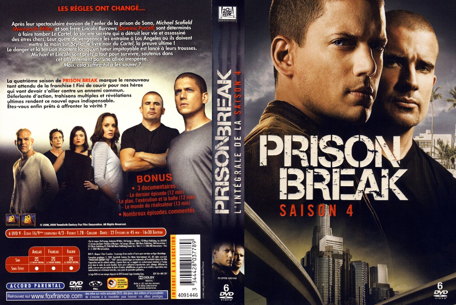Beautiful Cuarta Temporada Prison Break Gallery - Casas: Ideas ...