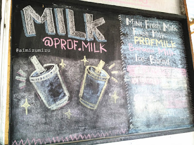 Prof Milk jati padang yang menjual susu berbagai rasa