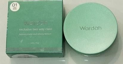 '..o`..*Lotus Story*..`o..': WARDAH EXCLUSIVE TWO WAY CAKE
