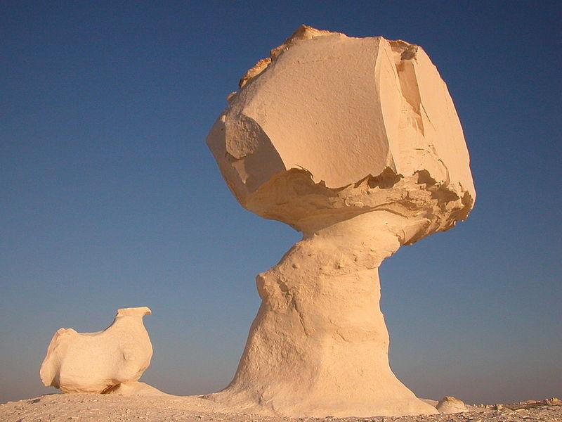 Lugar Bello e Inhóspito, Desierto Blanco (Farafra, Egipto) 2