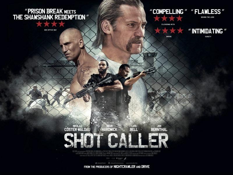 shot caller uk poster