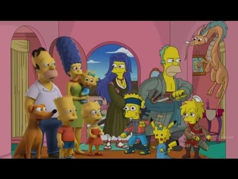 Mikasa Dalam Seri The Simpsons