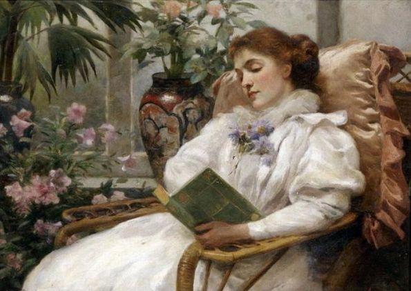 Писа Альберто Pisa Alberto (1864-1936) - Чтение