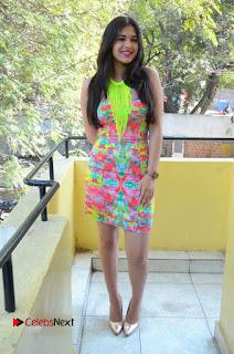 Telugu Actress Prasanna Stills in Short Dress at Inkenti Nuvve Cheppu Press Meet Stills  0190.JPG