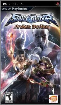 Soul Calibur Broken Destiny [PSP - ISO] Español [MEGA]