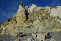 The Pinnacle on Branscombe Beach: Photo Credit Wikipedia user Ericoides