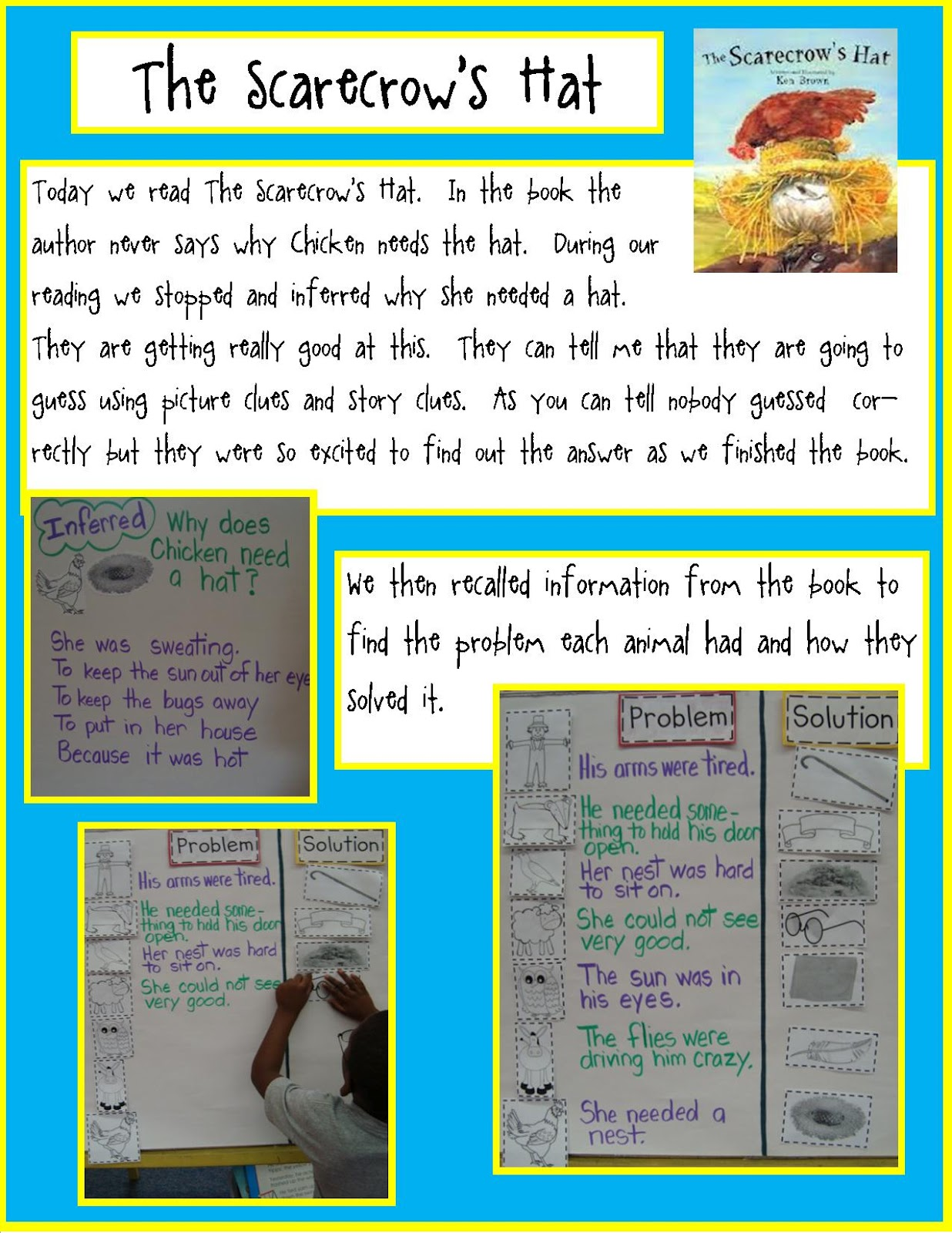 Golden Gang Kindergarten The Scarecrows Hat Reading And